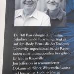 """""""Der Knochenleser"""" von Bill Bass & Jon Jefferson"""