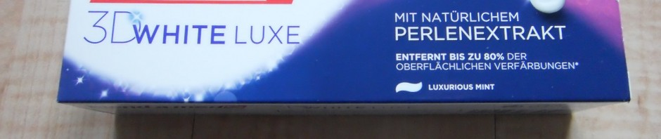3D White Luxe-Zahncreme von blend-a-med