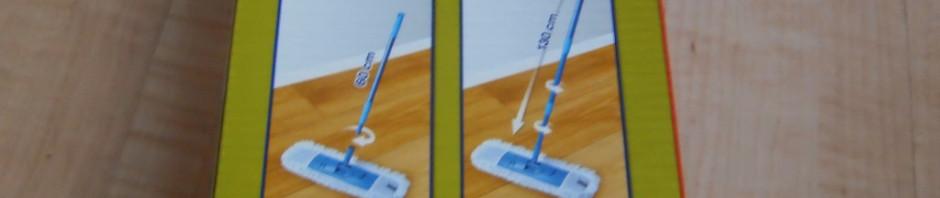 Spontex Mikrofaser Bodenwischer-Set