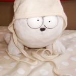 Baby Häubchen Wolle-Seide von Engel Natur