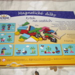 Detoa Magnetisches Legespiel Maulwurf auf Reisen