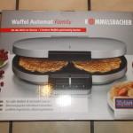 Rommelsbacher Waffel Automat Family