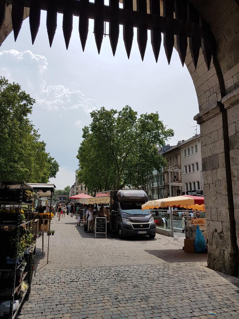 Wochenmarkt am Chlodwigplatz