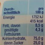 Alete Kinderkeks mit 25 Prozent Zucker