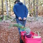 Mit dem Ultrasport durch den Wald
