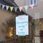 """Übernachten im Buchladen """"herr holgersson"""" in Gau-Algesheim"""
