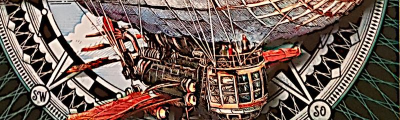 """""""Das Wolkenschiff – Aufbruch nach Südpolaris"""" – Steampunk-Abenteuer für Kids"""