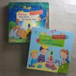 """Zwei Bücher der """"Hör mal""""-Reihe mit Puste-Licht"""
