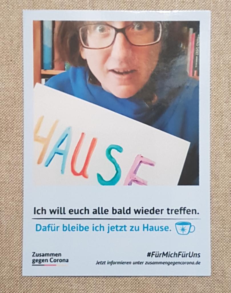 #FürMichFürUns: Zusammen gegen Corona – mit einer Million Postkarten