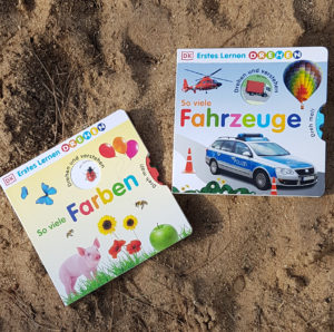 """Farben entdecken und Fahrzeuge kennenlernen mit der Reihe: """"Erstes Lernen Drehen"""""""