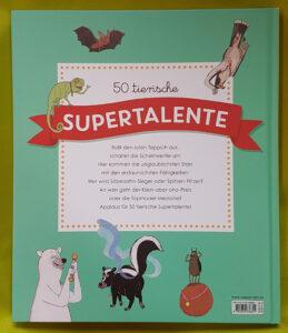 """""""50 tierische Supertalente: Die spektakulärsten Rekorde aus der Tierwelt"""" von Martin Jenkins und Tor Freeman"""