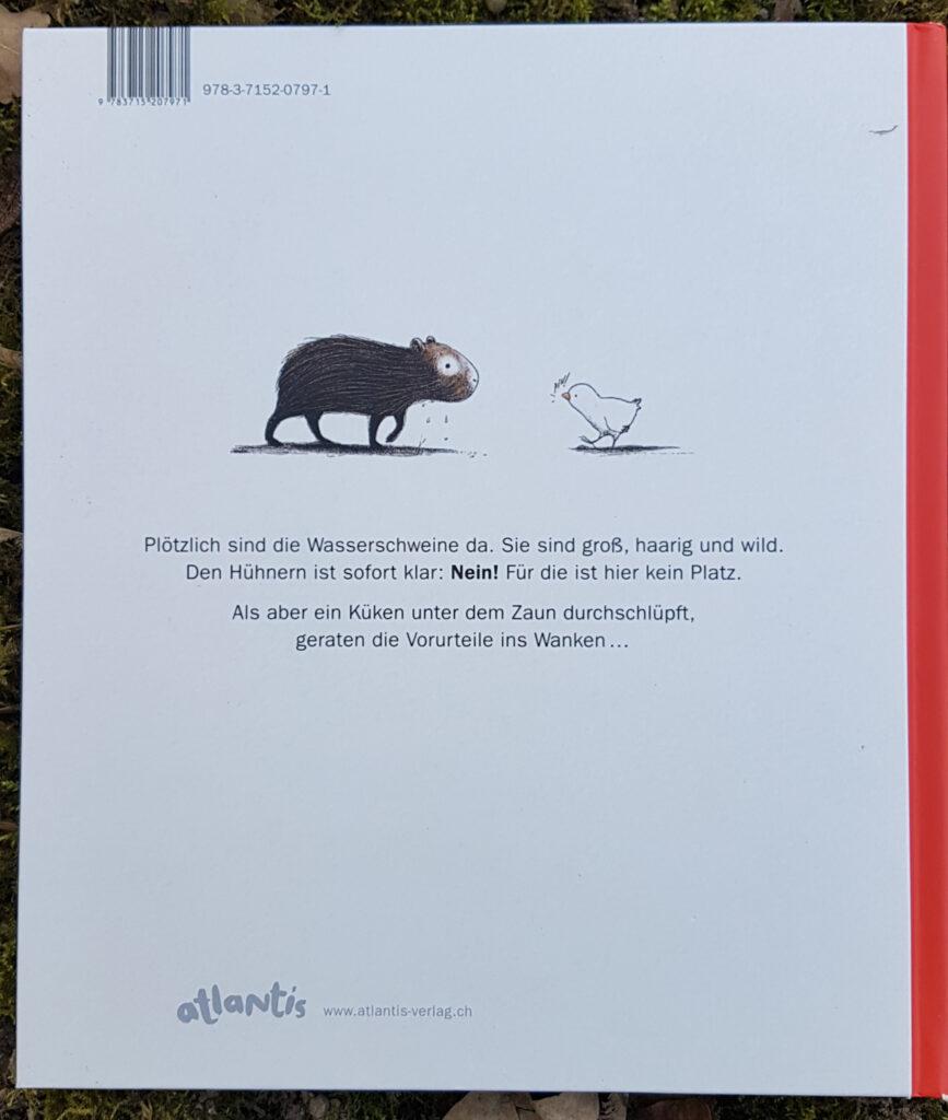 """""""Die Wasserschweine im Hühnerhof"""" von Alfredo Soderguit"""