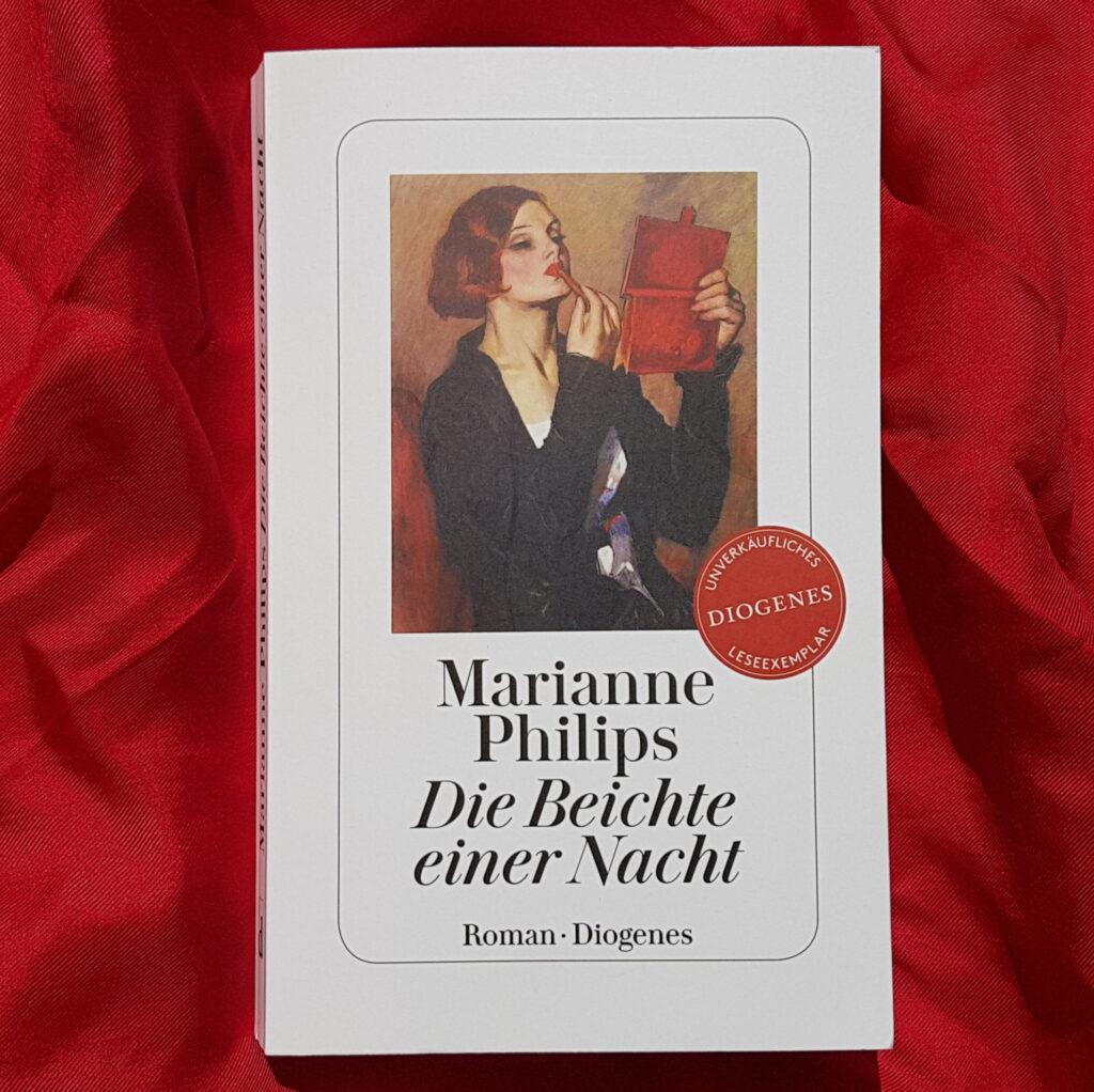 """""""Die Beichte einer Nacht"""" von Marianne Philips"""
