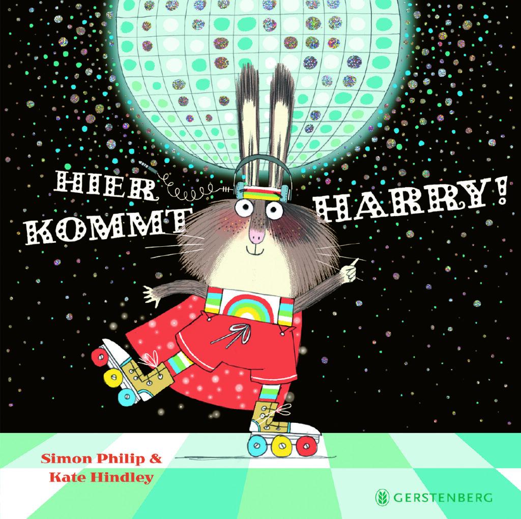 """""""Hier kommt Harry!"""" von Simon Philip und Kate Hindley (Gerstenberg Verlag)"""