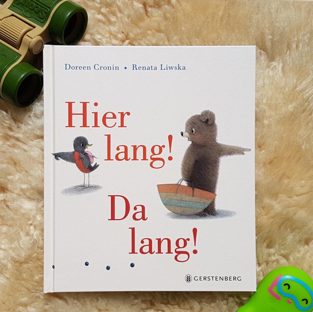 """""""Hier lang! Da lang!"""" von Doreen Cronin und Renata Liwska"""