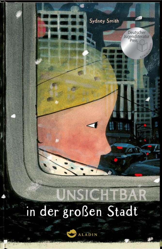 """""""Unsichtbar in der großen Stadt"""" von Sydney Smit (Aladin Verlag)"""