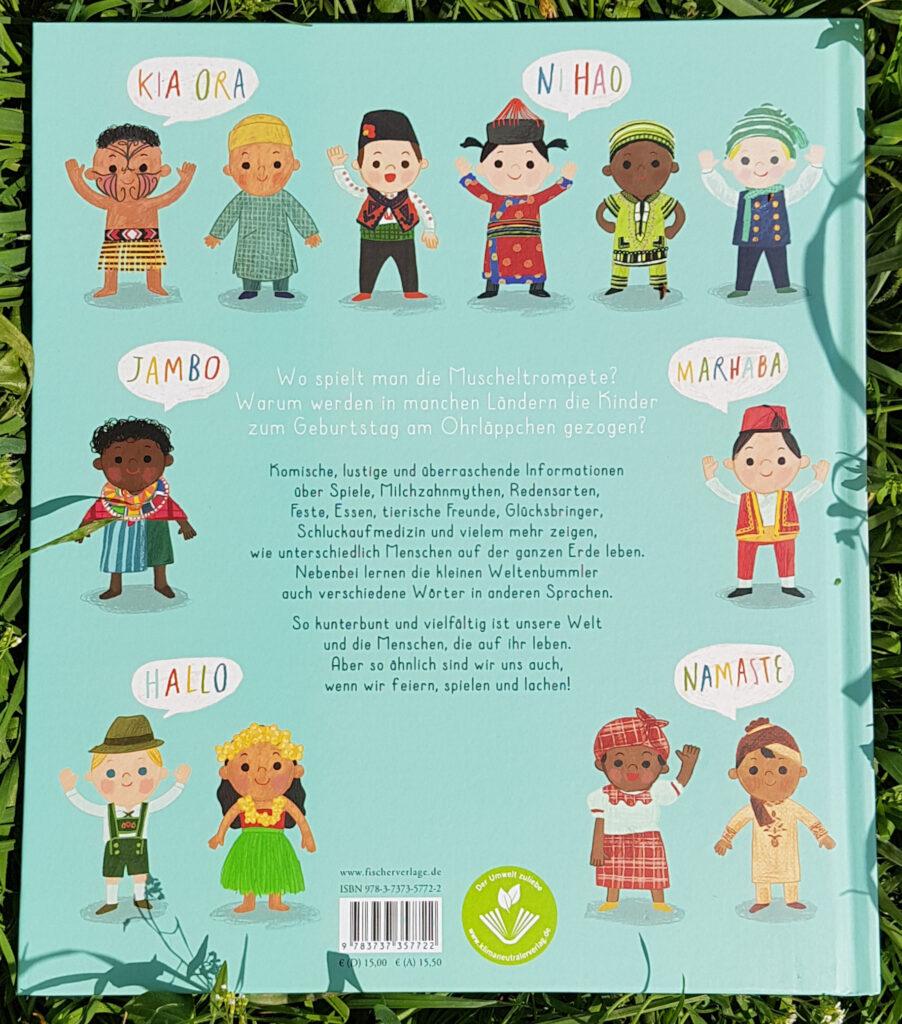 """""""Wir Kinder der Welt"""" von Moira Butterfield und Harriet Lynas"""
