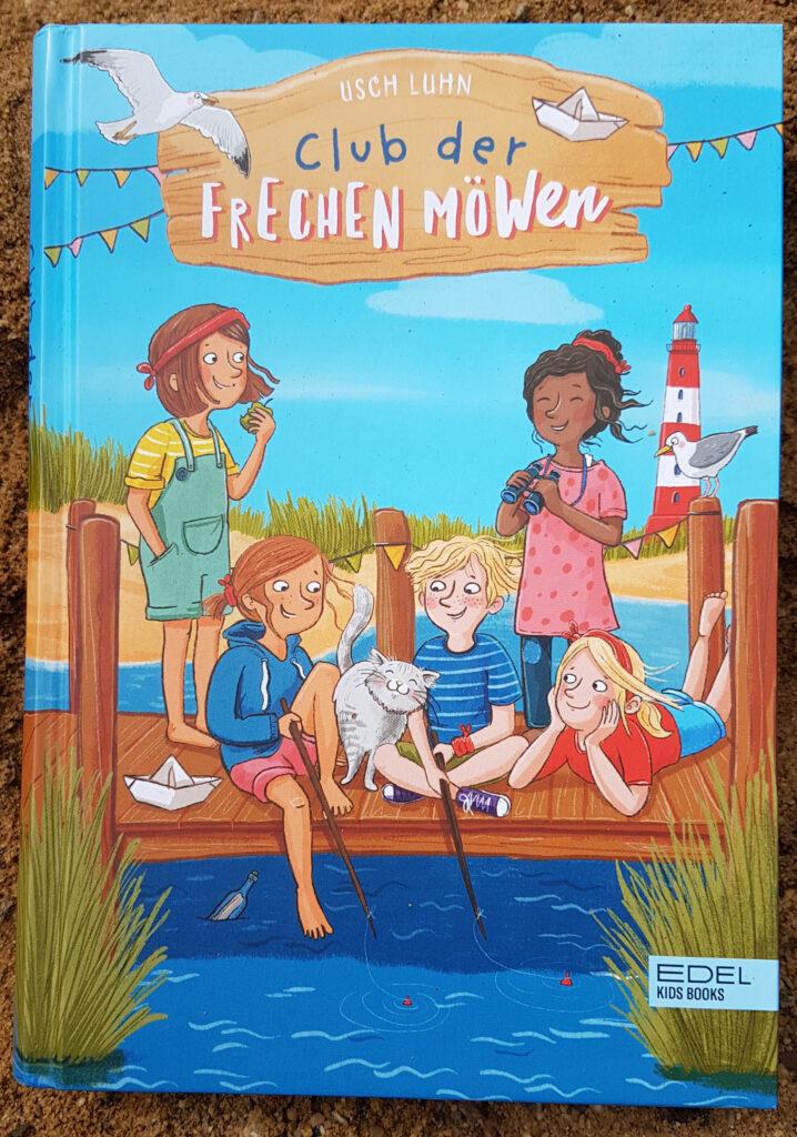 """""""Club der frechen Möwen"""" von Usch Luhn mit Illustrationen von Daniela Kunkel"""