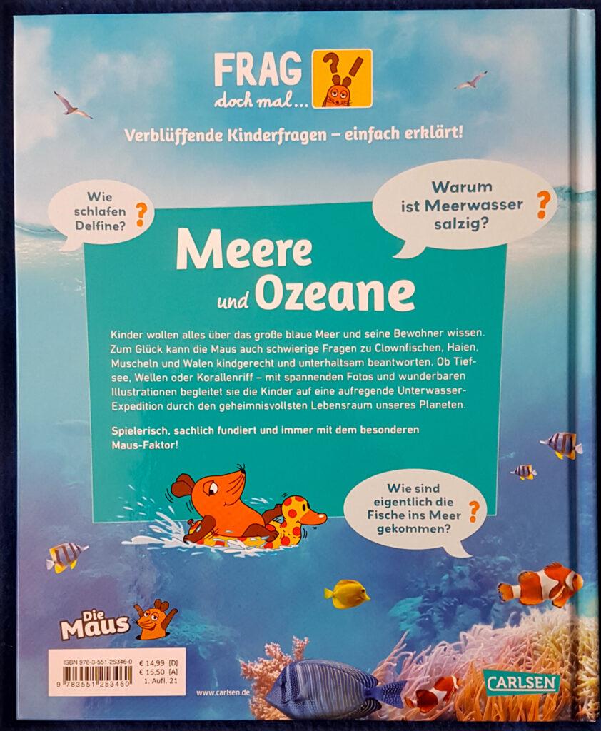"""Frag doch mal die Maus: """"Meere und Ozeane"""""""