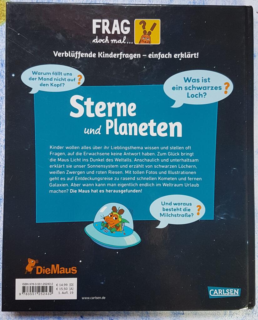 """Frag doch mal … die Maus: """"Sterne und Planeten"""""""