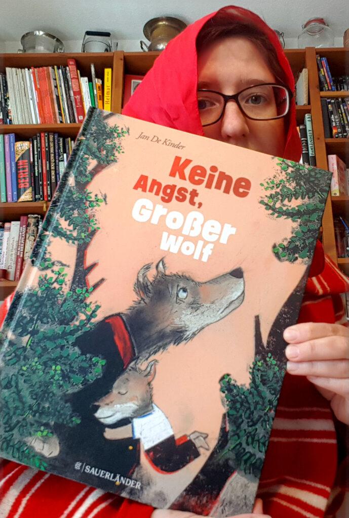 """""""Keine Angst, großer Wolf"""" von Jan De Kinder"""