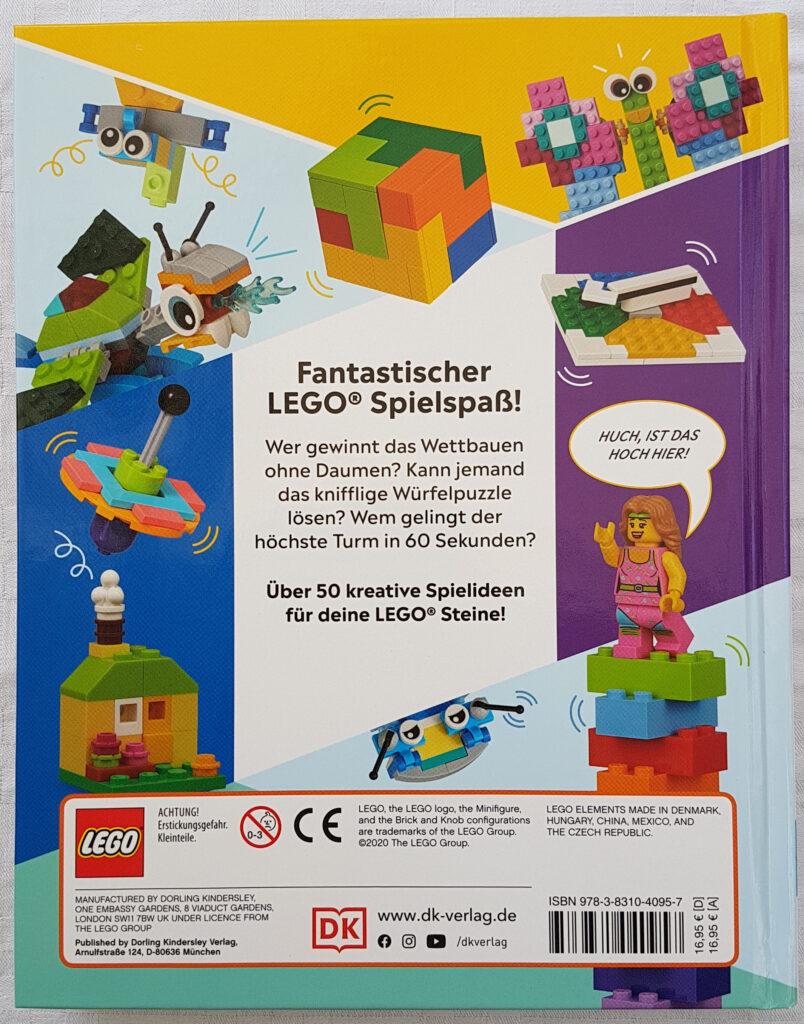 Das LEGO® Spiele Buch: 50 lustige Denkspiele, Rätsel, Puzzle und Bauduelle