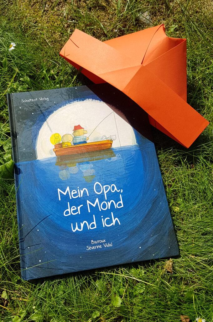 """""""Mein Opa, der Mond und ich"""" von Séverine Vidal und Barroux"""