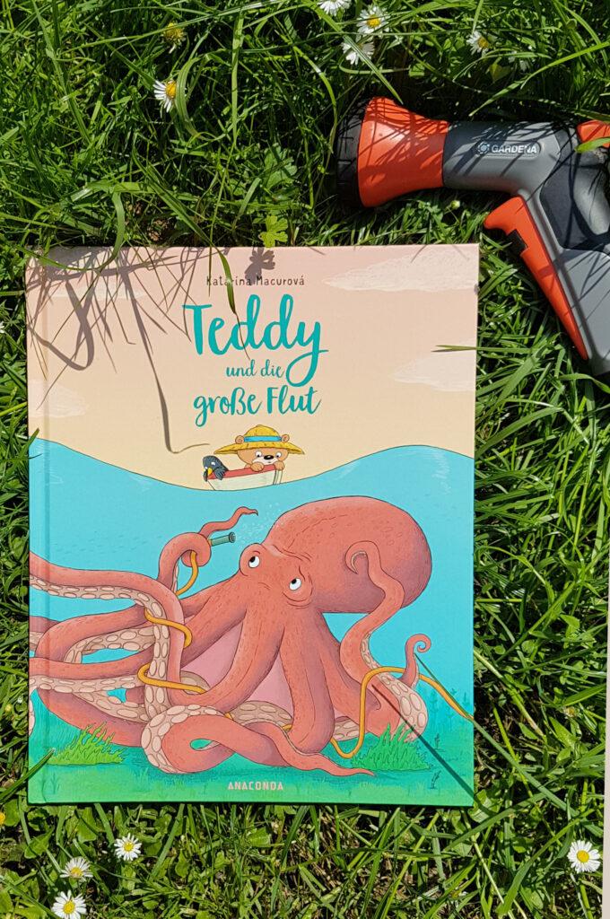 """""""Teddy und die große Flut"""" von Katarína Macurová"""