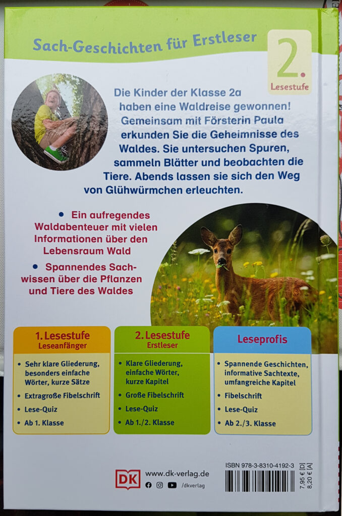 Unser Waldabenteuer – Sach-Geschichten für Erstleser, 2. Lesestufe