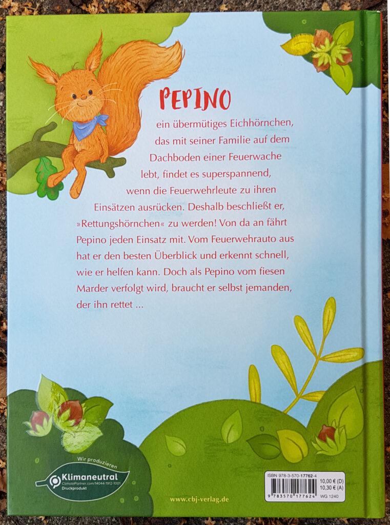 """""""Pepino Rettungshörnchen"""" von Irmgard Kramer und Nora Paehl"""